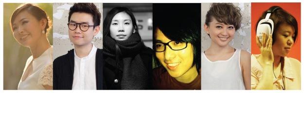 主催人何芸妮,表演嘉宾伍家辉,Anna庄启馨,李志清,李欣怡,舞台总监潘沁珈